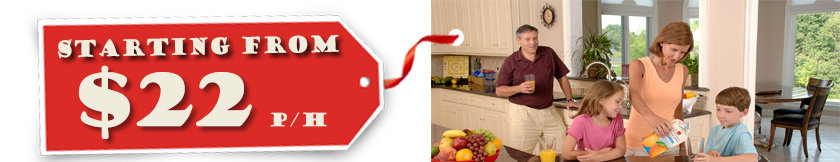 house cleaner NSW starting from $22